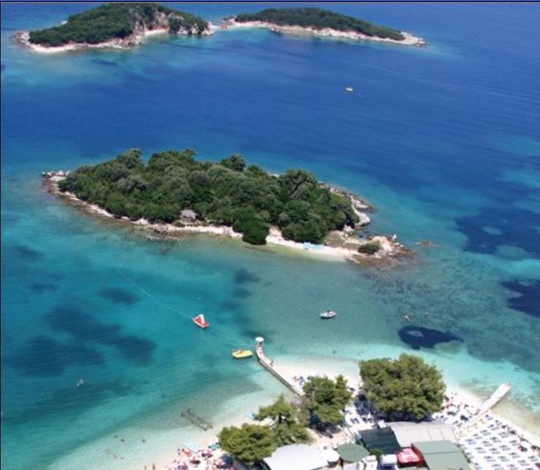 Isole e spiagge di Ksamil