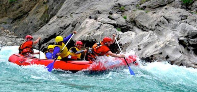 Rafting in Albania sul fiume Osumi –  Sport, natura e tanta adrenalina.